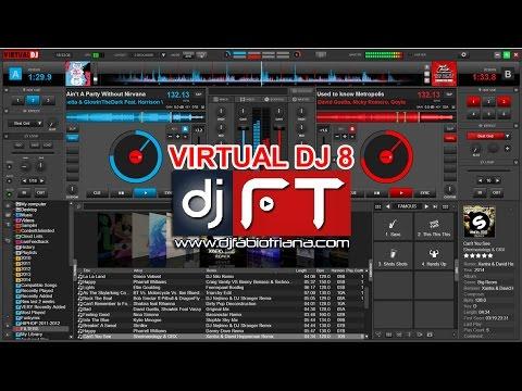 asi es virtual dj 8 p14 sampler y playlist segunda parte