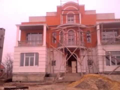 Фасад здания с использованием Престиж Декора