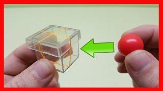 MAGIC TRICKS GLASS BOX AND BALL EASY MAGIC TRICKS AMAIZING MAGIC TRICKS| MAGIC BOX