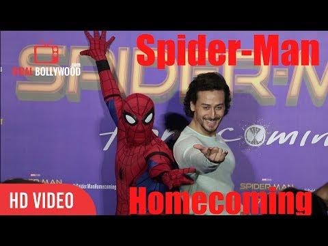 Tiger Shroff's Spider-Man Homecoming In Hindi | Spider-Man Homecoming Trailer Launch thumbnail