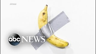 From Art Basel's $120K banana to the festival's effect on local communities l ABC News