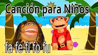 Canción fa fe fi fo fu - El Mono Sílabo - Videos Infantiles - Educación para Niños #