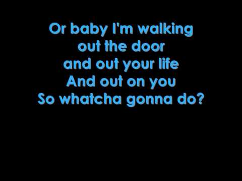 Martina Mcbride - Watcha Gonna Do