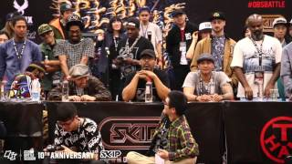 Popping Best16-8 Hozin vs Boogie Tie | 160229 OBS Vol.10 Day2