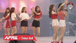 APRIL(에이프릴) - Tinker Bell(팅커벨) 서울광장 무대 [2018 K-POP COVER DANCE FESTIVAL]