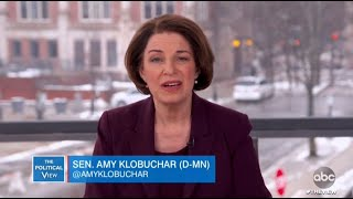 Amy Klobuchar Defends Attorney Record and Welcoming Pro-Life Voters to Democratic Party | The View