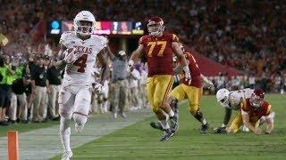Deshon Elliott vs USC (2017) - 7 Tkls, 2 INTs + TD! - 2017-18 NCAAF HD