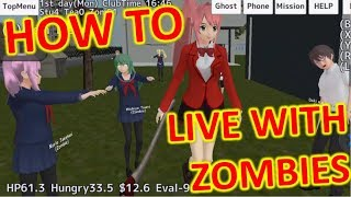 [School Girls Simulator] SURVIVE IN A ZOMBIE SCHOOL (FULLY INFESTED)