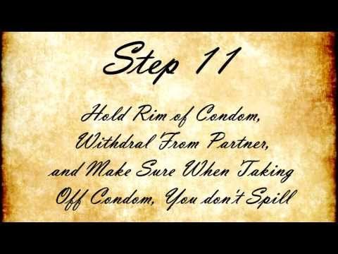 12 Steps Of Condom Use video