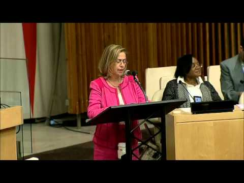 Prof. Anne Bayefsky condemns Antisemitism @ UN on Sept 8, 2014