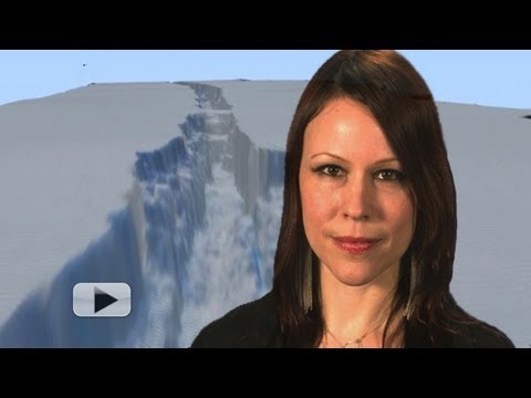 Birth of a Giant Iceberg -- Climate Change Evidence? | Video