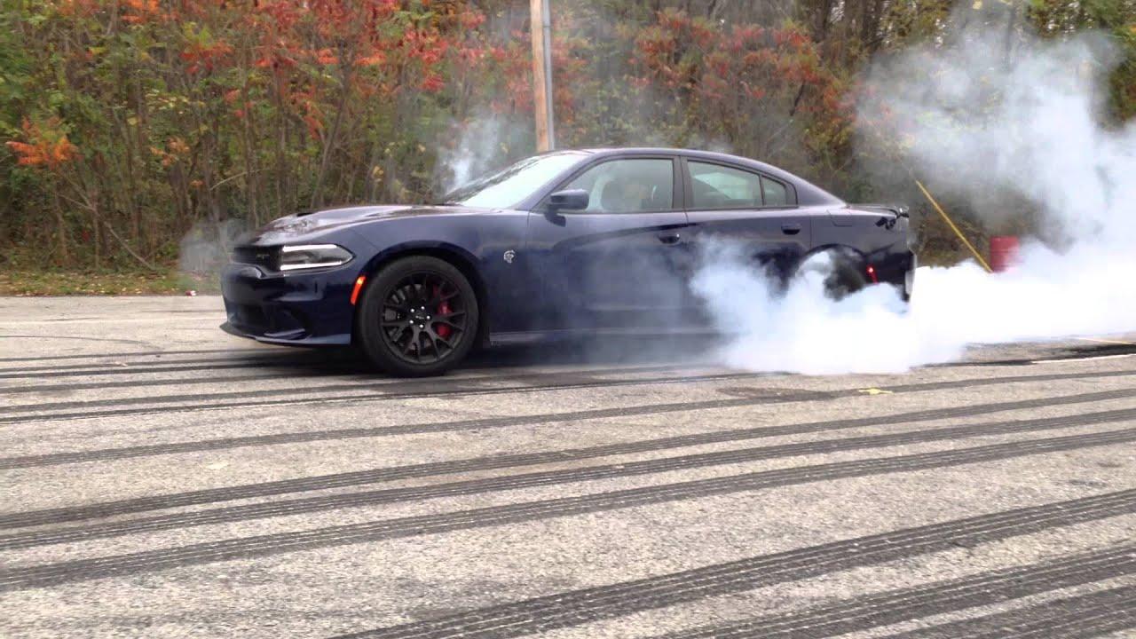 2015 Dodge Charger Srt Hellcat Burnout Youtube