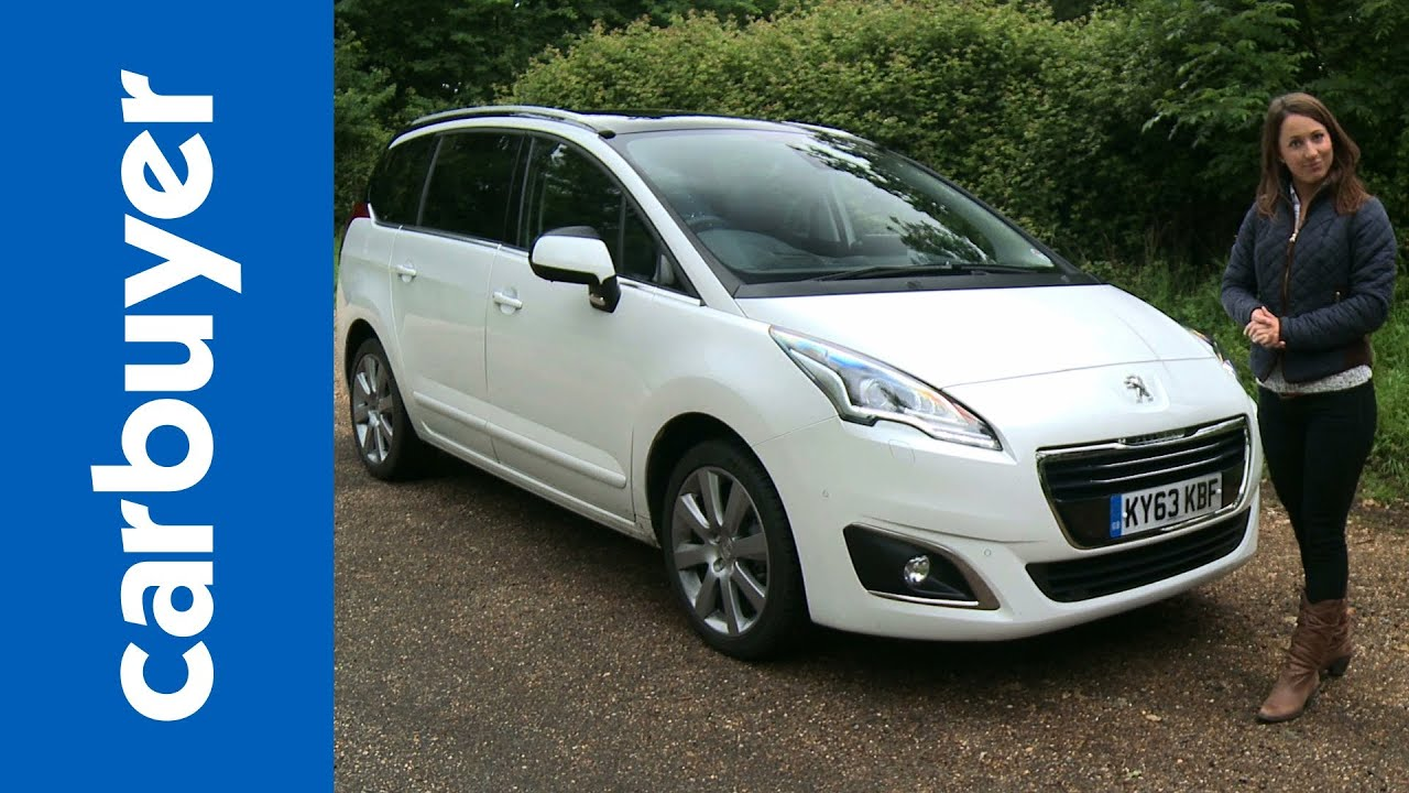 peugeot 5008 mpv 2014 review carbuyer youtube. Black Bedroom Furniture Sets. Home Design Ideas