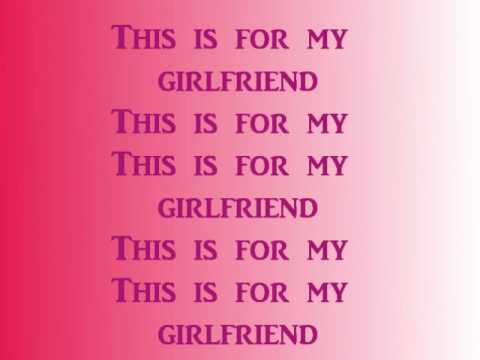 Nicki Minaj girlfriend with lyrics