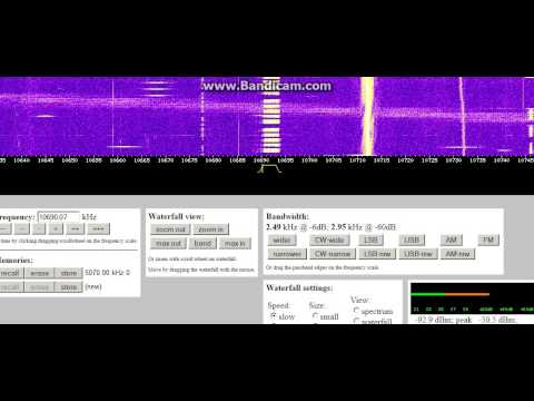 Number Station E11-SDR-131112-1400z