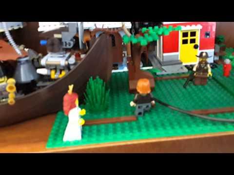 Обновления моего города Лего Стимпанк (обзор).