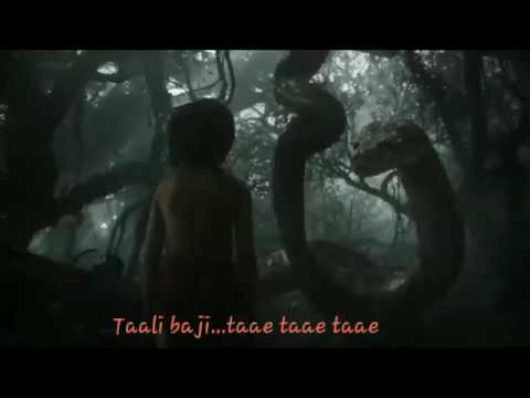 The jungle book title song with lyrics HD