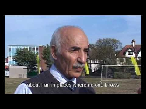 Poland v Iran, interview with the Aryan FC Chairman Mohammad Khakpour, 30 Bird Productions.