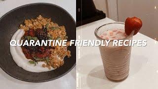 WHAT I EAT IN A WEEK QUARANTINE RECIPES   Healthy Vegan Recipes + DIY Almond Milk & Coconut Milk