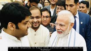 Latest Entertainment News - You have a great sense of humour: Kapil Sharma on meeting PM Modi