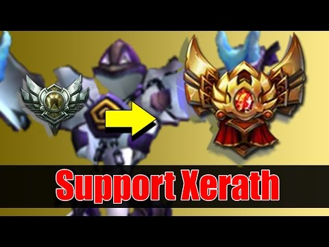 Xerath Support Guide & How to get out of Silver to Gold