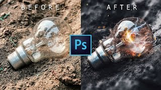 Electro Effect | Photoshop Tutorial | CS6 | How to edit photo with Photoshop