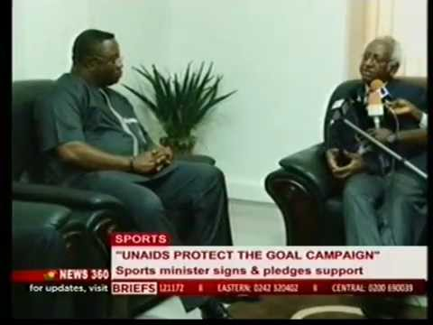 Ghana Youth and Sports Minister Pledges to support PTG 16April2014 News