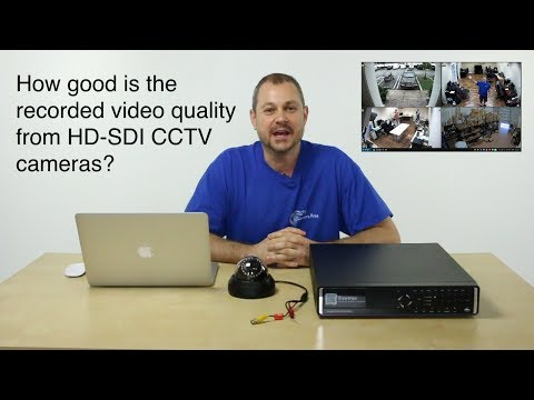 HD-SDI CCTV Recorded Video Playback on Viewtron Surveillance DVR