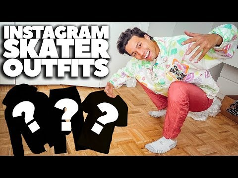 I BOUGHT 5 INSTAGRAM SKATER OUTFITS!! | *2018 Vintage Clothing Haul*