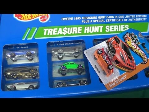 Hot Wheels Treasure Hunts. How Rare Are They And What Are They Worth?