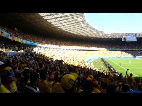 Colombia 3 - Greece 0, Brazil 2014, last 3 minutes