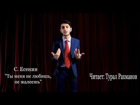 Есенин С.А. Ты меня не любишь, не жалеешь