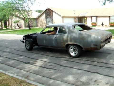 1970 Nova Burn Out. Video