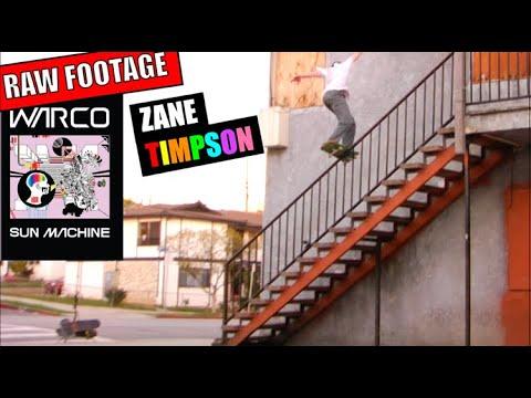 Zane Timpson: Sun Machine (RAW FOOTAGE)