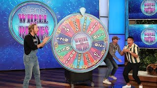 Dax Shepard & Ellen Help a Fan Spin Their Way to $1,000!