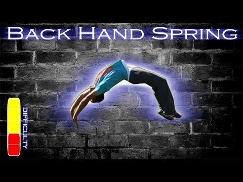 Back handspring learn spanish free