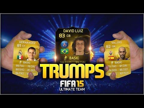 FIFA 15 TRUMPS! w/ INFORM DAVID LUIZ! | FIFA 15 ULTIMATE TEAM (DISCARD PACK OPENING)