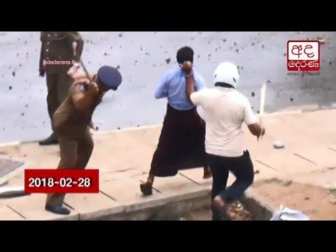 thambuttegama protes eng