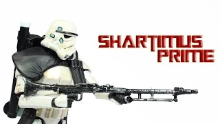 Star Wars Sandtrooper Black Pauldron 6 Inch Black Series 2014 Toy Movie Action Figure Review