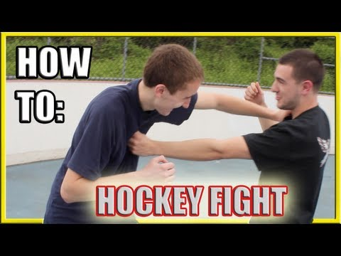 How to Fight: Hockey Fighting vs. Street Fight Techniques Image 1