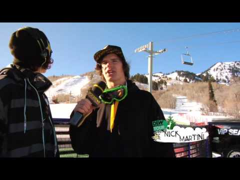 Ski Team's Last Day of Dew Tour...