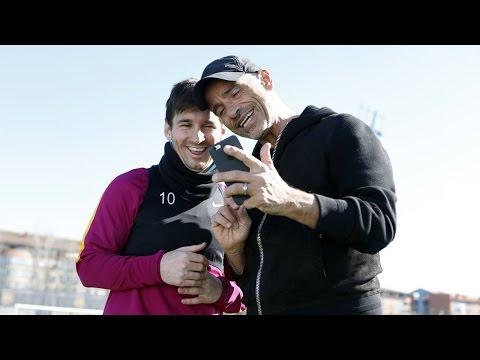 BEHIND THE SCENES: Leo Messi & Eros Ramazotti