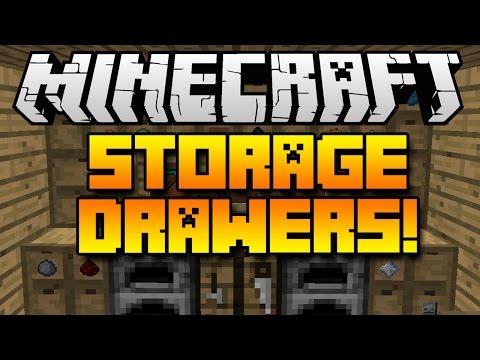 Minecraft Mods Storage Drawers