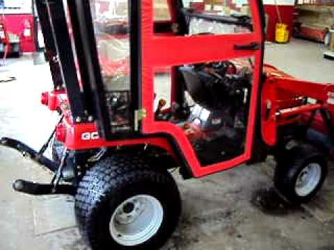 Massey Ferguson GC2300 with Curtis cab for sale.