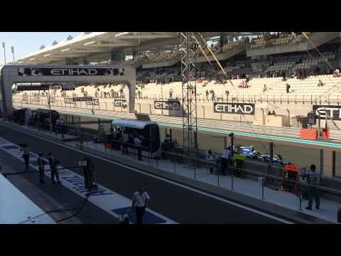 F1 Abu Dhabi UAE View from the Paddock Club