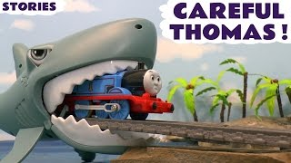 Thomas & Friends Toy Trains Be Careful Thomas Stories with Disney Cars Toys McQueen ToyTrains4u
