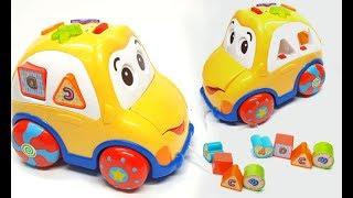 Đồ chơi trẻ em   đồ chơi ô tô thả hình có nhạc   đoàn tàu thả bóng cho bé yêu