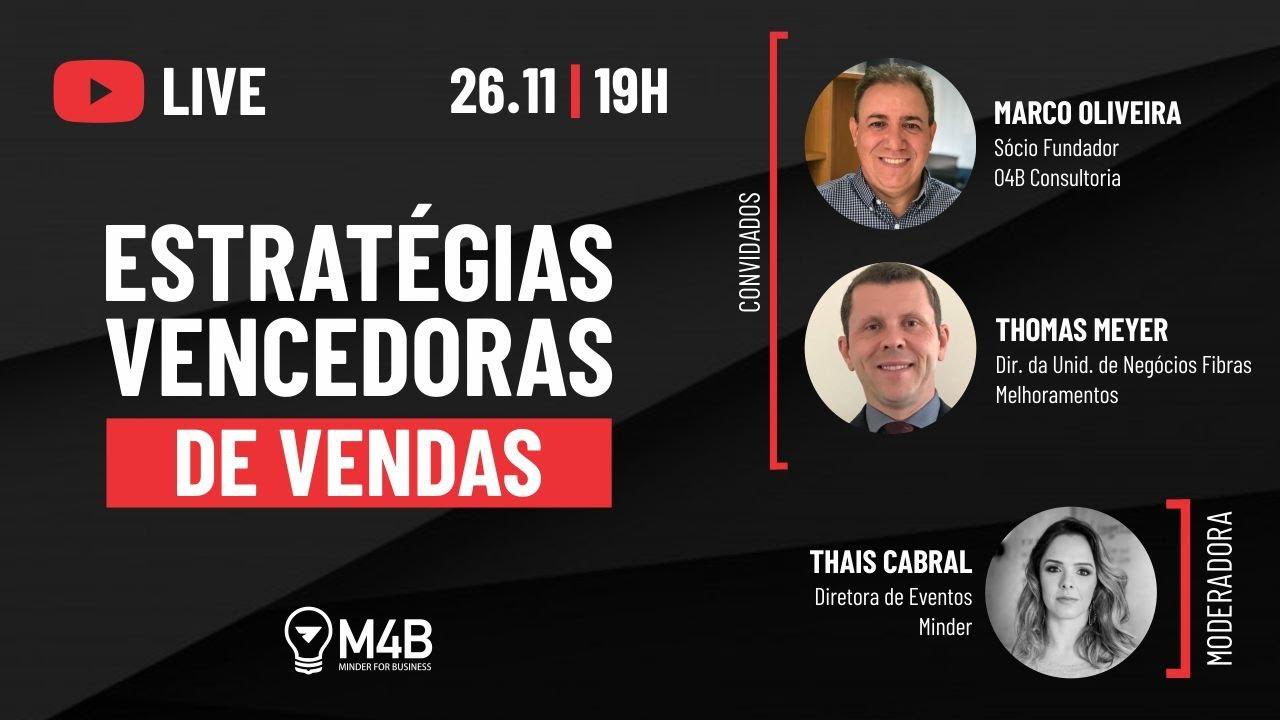 [Live] Estratégias vencedoras de vendas