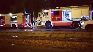 Ночной пожар потушили в многоэтажке Пятигорска