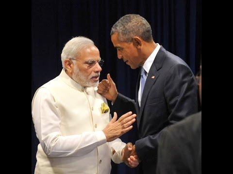 PM Shri Narendra Modi meets US President Barack Obama